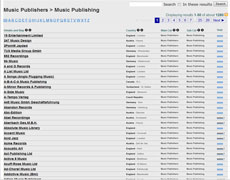 Music Industry Directory